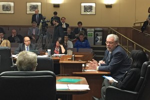 Bill McGuire testifies in front of the Minnesota State House Tax Committee