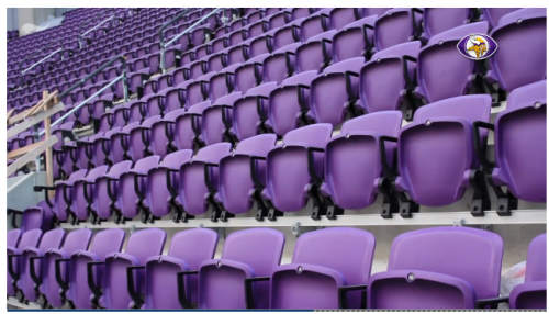 Vikings Track Seating