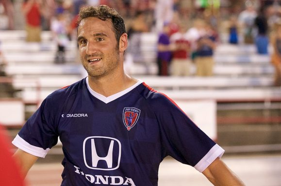 Indy Eleven's Eamon Zayed (Photo Credit: Matt Schlotzhauer for Indy Eleven)