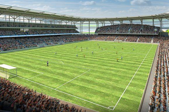 MNUFC Stadium Interior