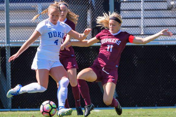 Duke Womens Soccer vs Minnesota Gophers