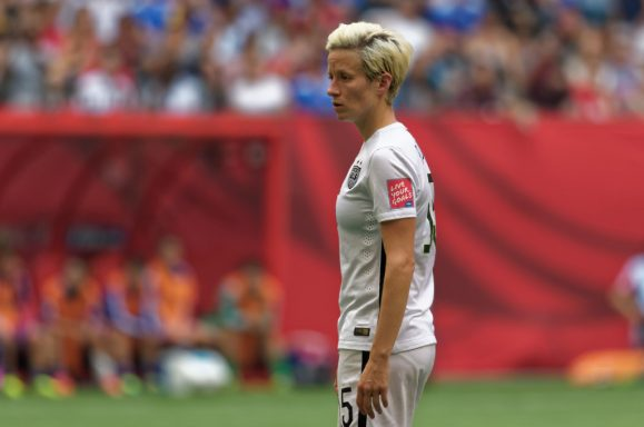 USWNT player Megan Rapinoe - Photo credit Jeremy Olson - digitalgopher.come
