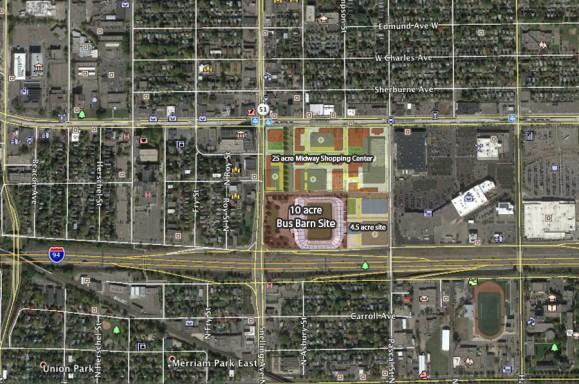 Midway Superblock Minnesota United Stadium Midway Center