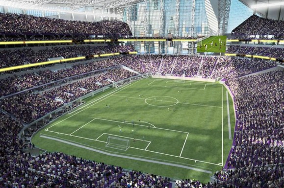 Soccer at US Bank Stadium