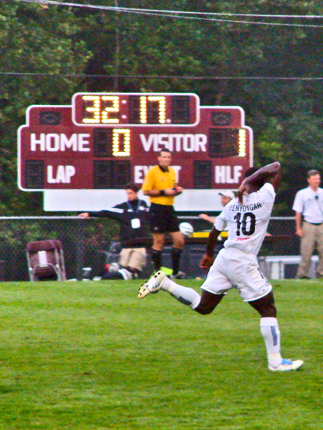 In the absence of star striker Melvin Tarly, Minnesota's Johnny 'Tiny Ticket' Menyongar stepped up with two goals to fire the Thunder past reigning Open Cup champions Kansas City in the 2005 edition of the tournament.