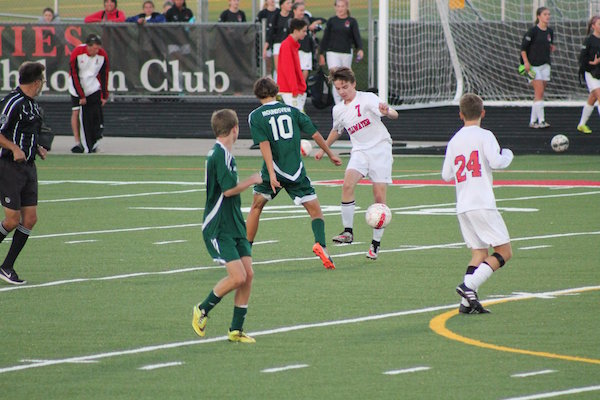 Mounds View and Stillwater met on September 29, and play again on October 26. Photo courtesy of Stillwater Area Public Schools, photo by Lauren Hafner
