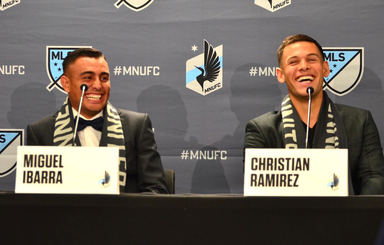 Miguel Ibarra & Christian Ramiez