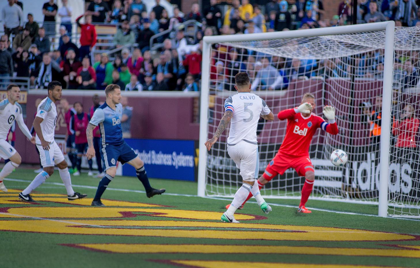 Calvo Goal Vancouver