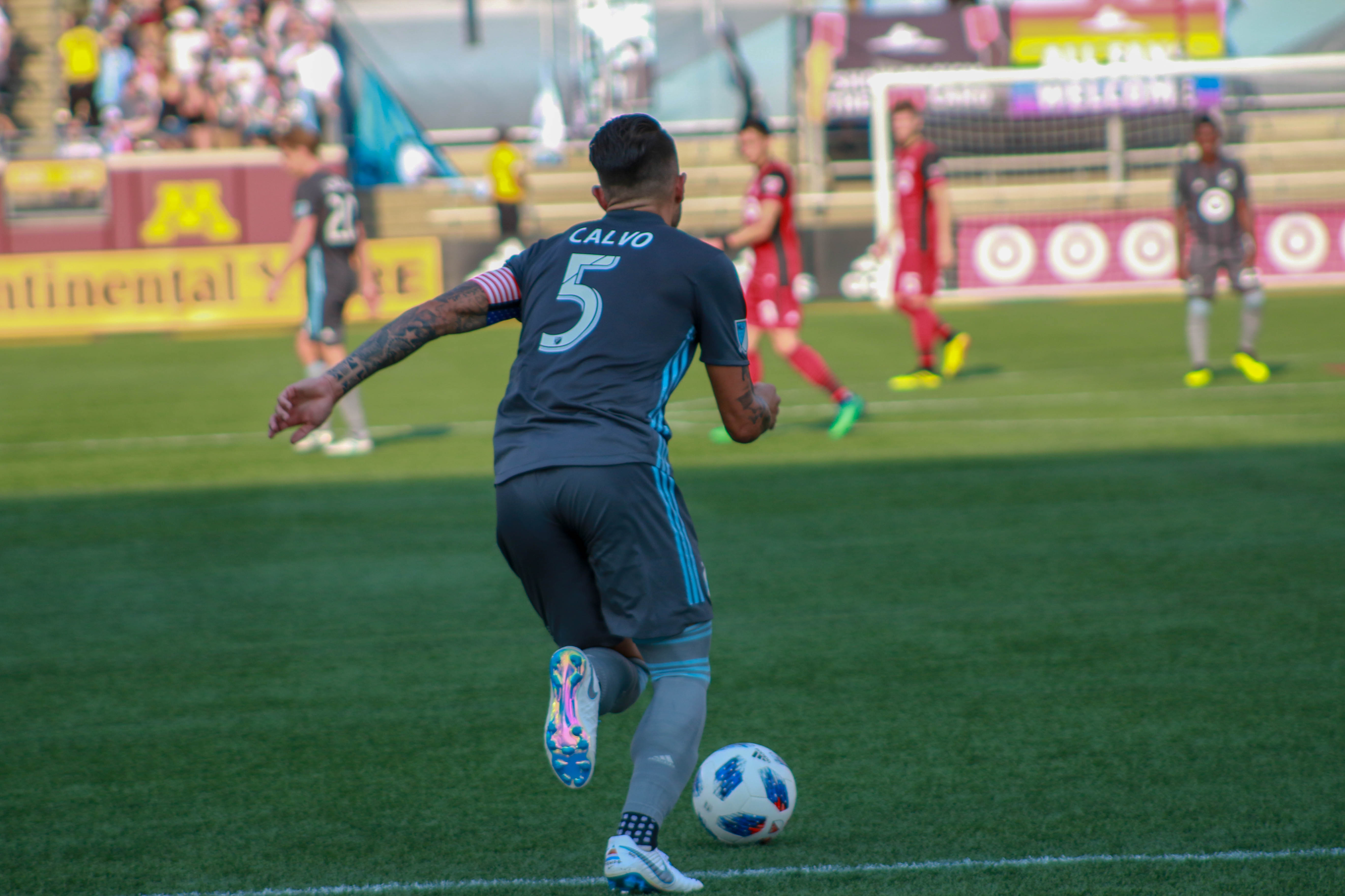 Photo Essay Mnufc Vs Toronto Fc  Fiftyfiveone  Makes His First Appearance For The Loons Sice Competing For The Costa  Rican National Team At The  Mens World Cup This Was Calvos First Game  For  Thesis Statement For A Persuasive Essay also Economics Writing Service  Essay On Health Care