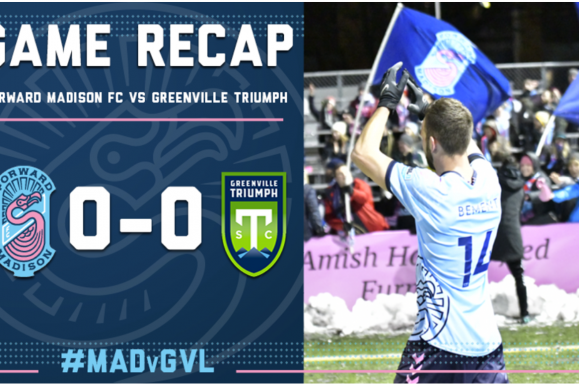 Forward Madison FC vs. Greenville Triumph SC match recap