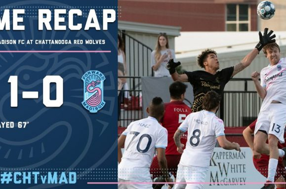 Match recap of Chattanooga Red Wolves and Forward Madison FC